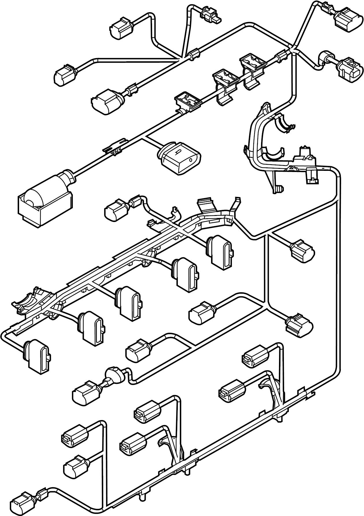 Volkswagen Jetta Engine Harness Engine Wiring