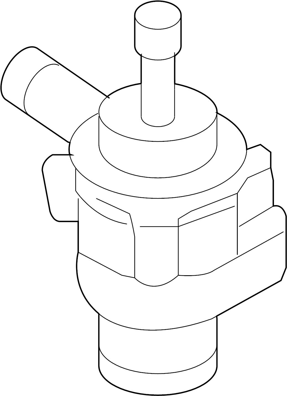 Volkswagen Jetta Aux Pump Auxiliary Pump Water Pump Audi Volkswagen