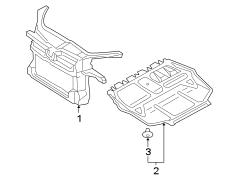 2010 Volkswagen Jetta Support Panel Liter, Engine, WAGON