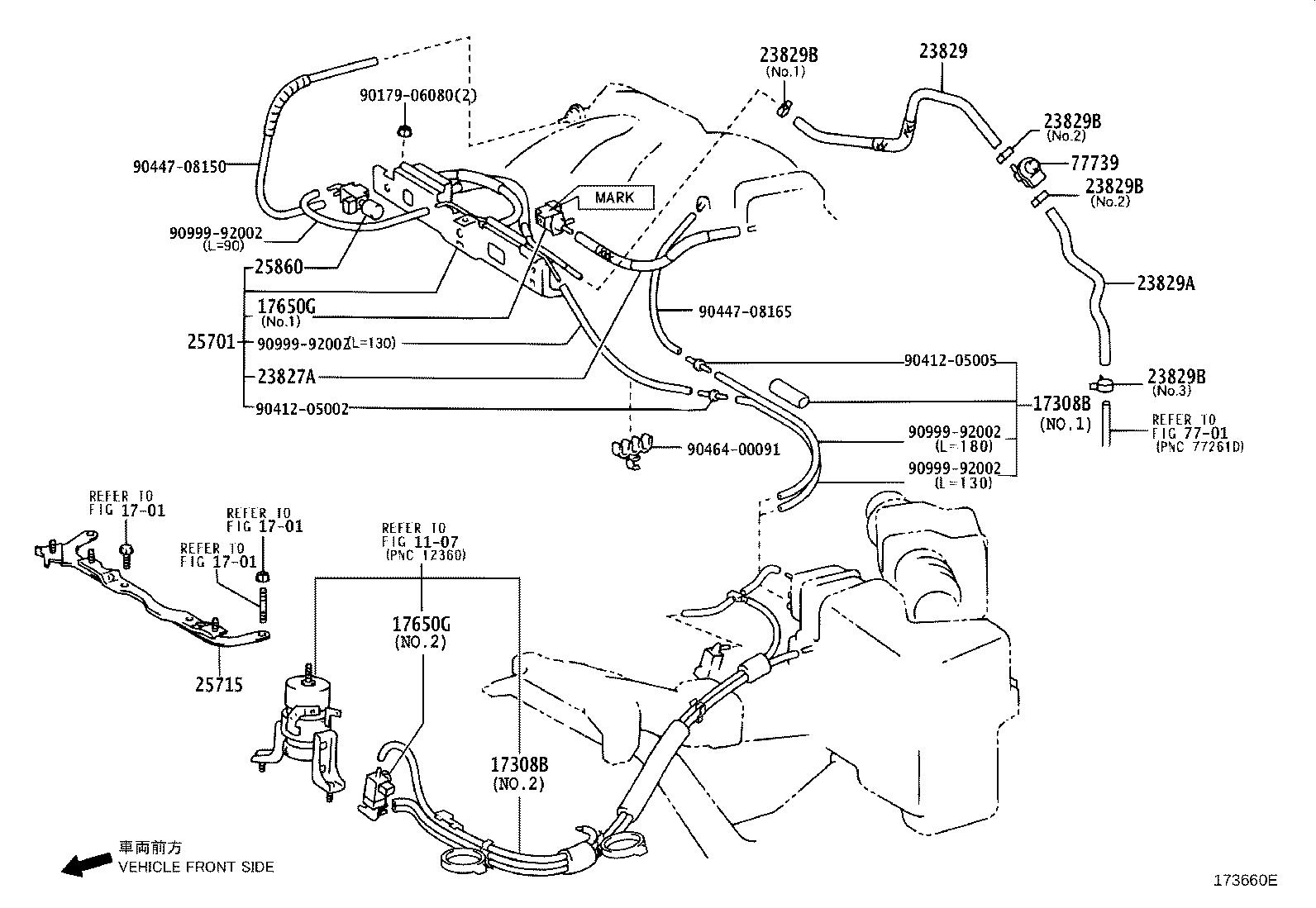 Lexus Rx 330 Vapor Canister Purge Solenoid Valve