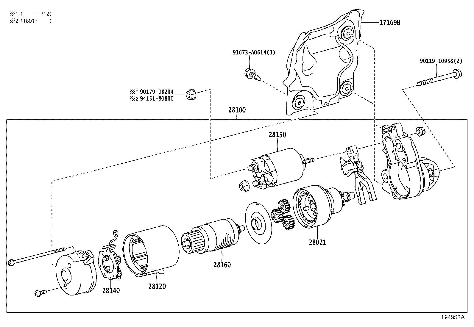 Lexus Lc 500 Armature Assembly Starter Consumption