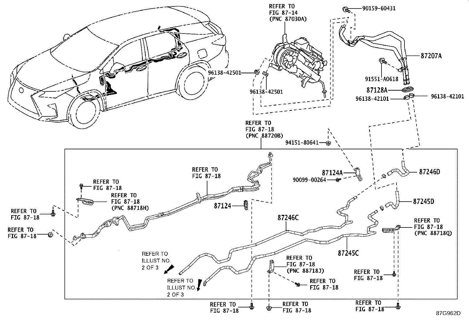 Lexus Rx 350l Hose Heater Water Outlet Rear Front