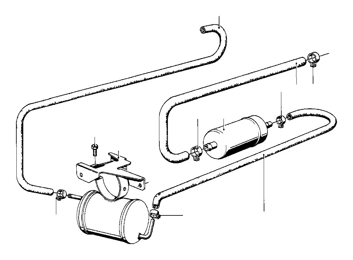 Bmw 633csi Fuel Pump Filter System