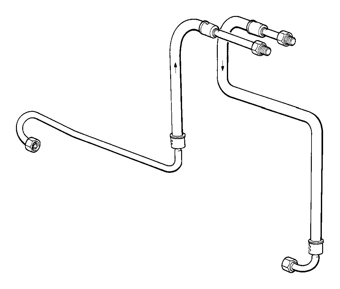 Bmw 325ix Rubber Grommet Cooling Radiator Oil Engine