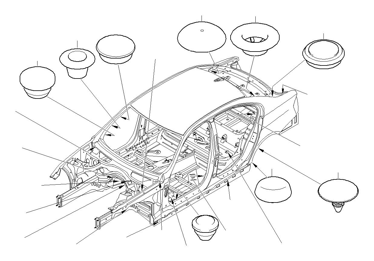 Bmw X6 Blind Plug