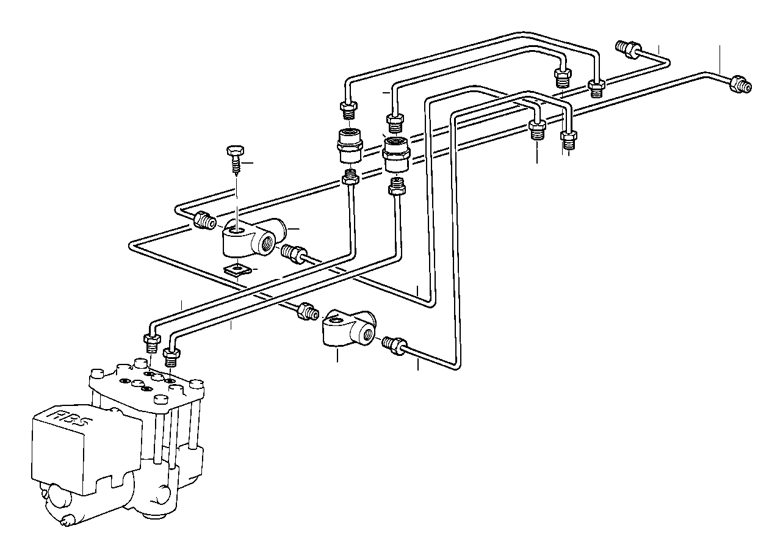Bmw 318i Pipe M10 M10 260mm Brake Zyl Bavaria