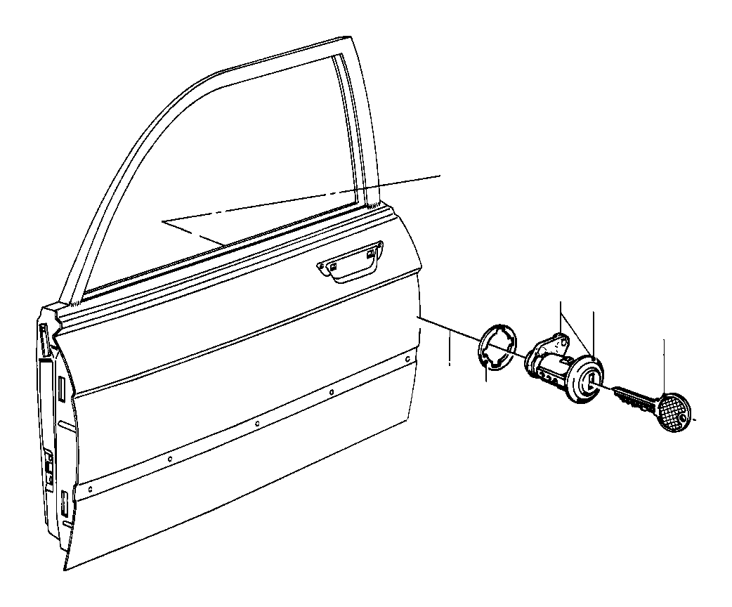 Bmw 318i General Key Blank Code Lock Fuel