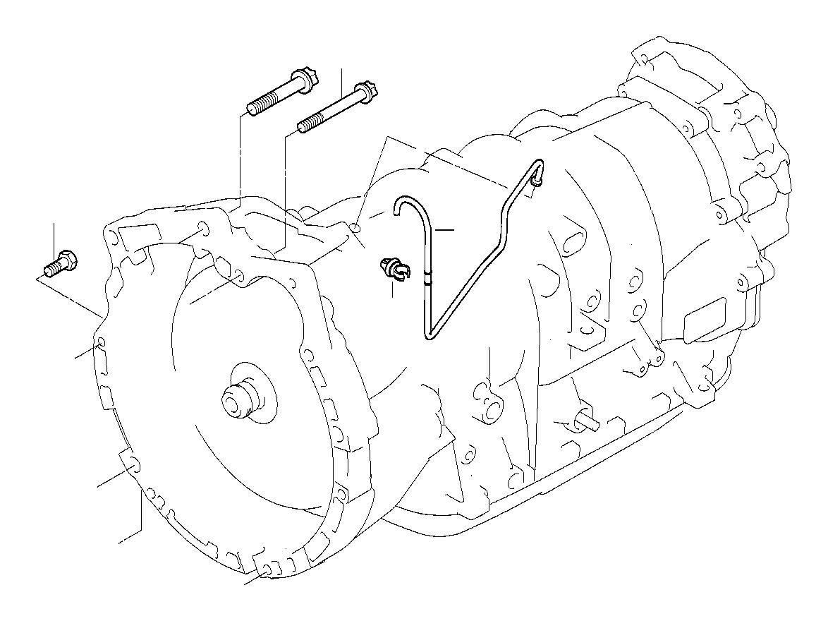 Bmw 435ix Torx Bolt M12x50 8 8 Zns3 Mounting Gearbox