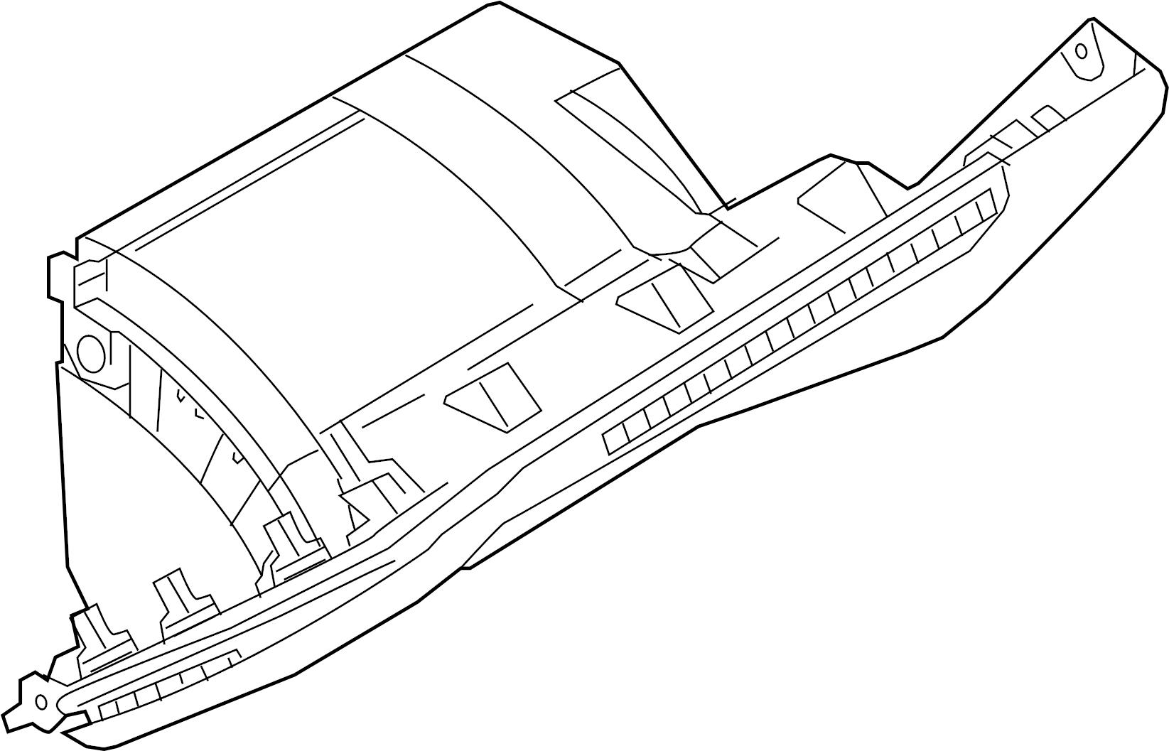 Bmw 750i Storage Comp Instrument Panel Top Alpina