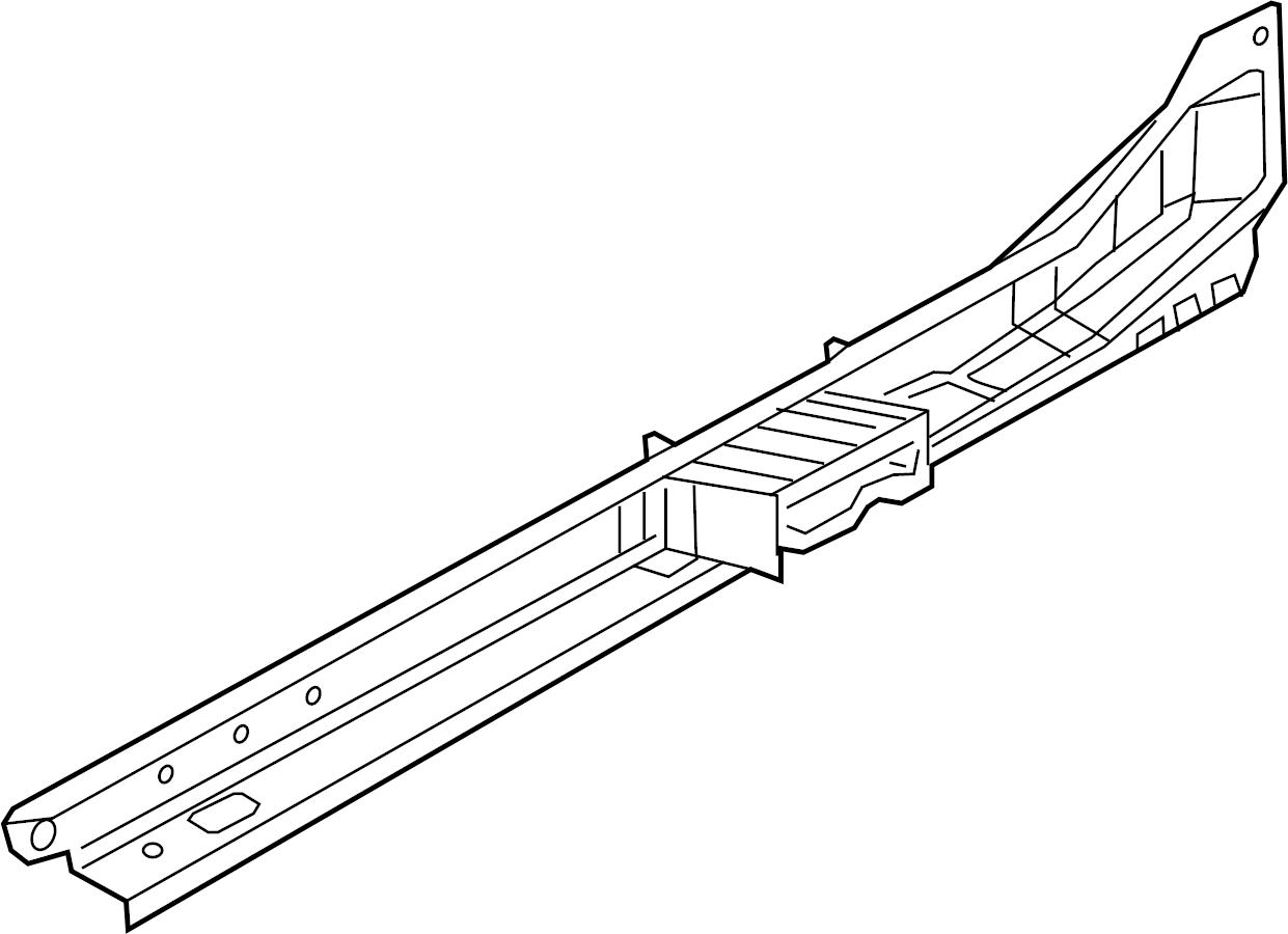 Bmw 750lix Side Member Inner Left Alpina Body