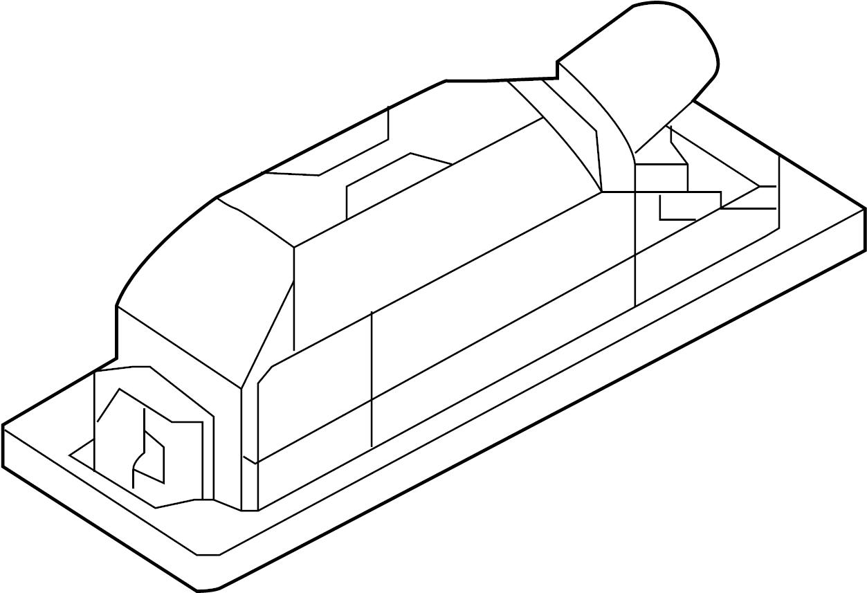 Bmw 750lix Trunk Lid Grip Individual Equipment