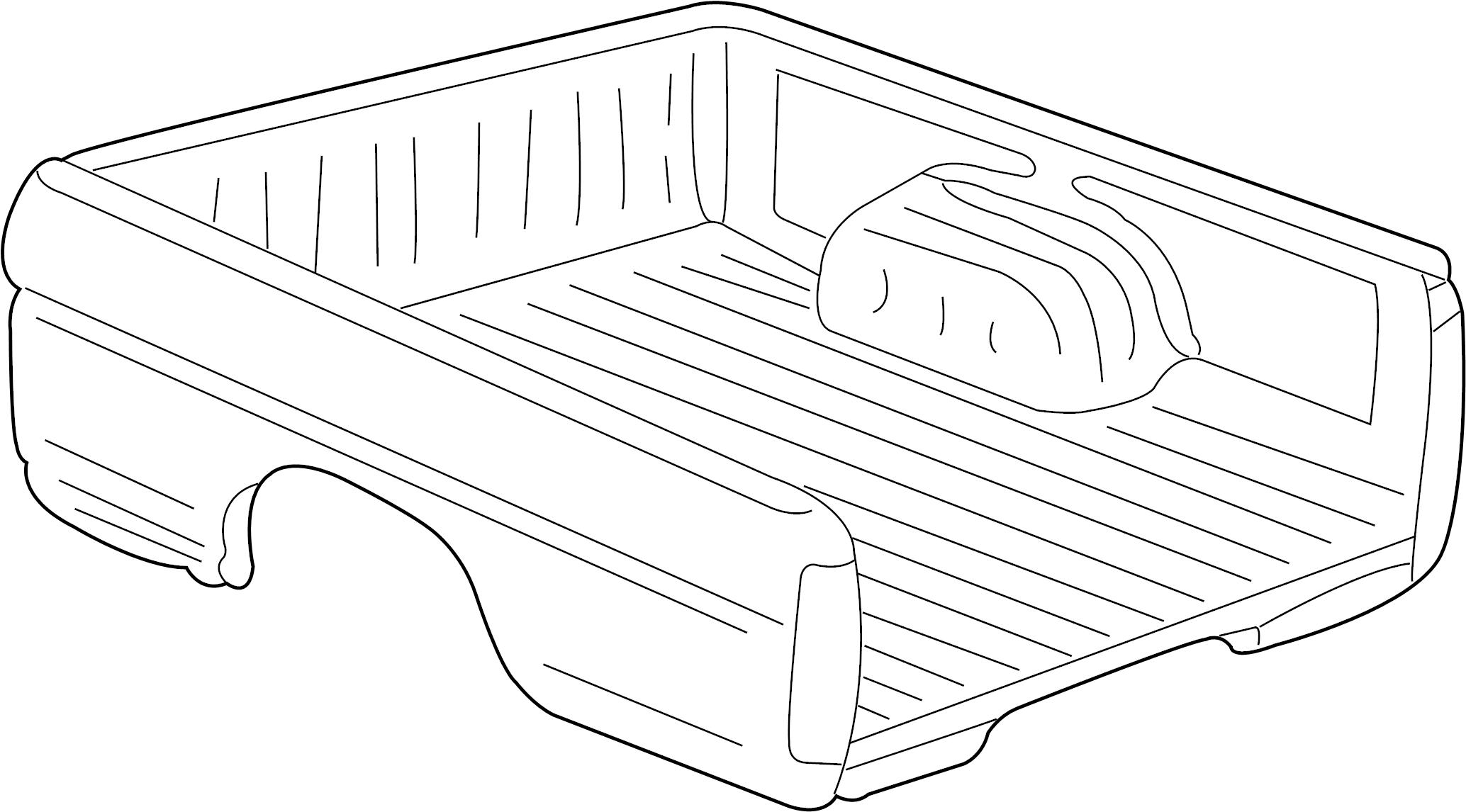 Nissan Frontier Truck Bed Rear Body