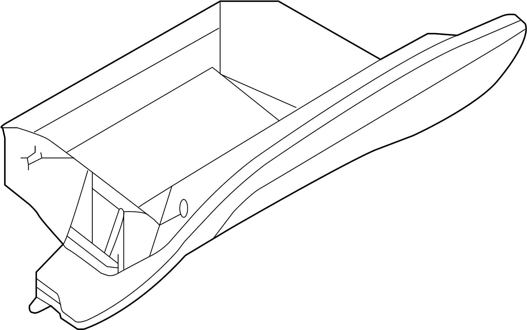 Nissan Rogue Glove Box Door Lid Pad Cluster