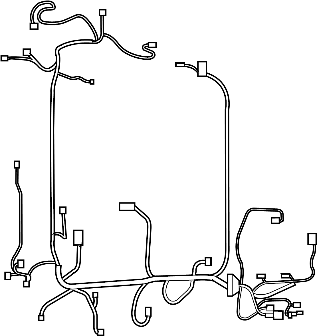 Nissan Sentra Engine Wiring Harness Other