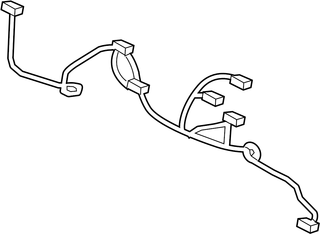 Porsche 911 Parking Aid System Wiring Harness W O