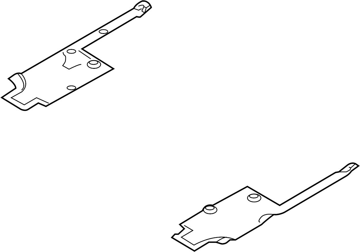 Porsche 911 Floor Pan Splash Shield Front Left