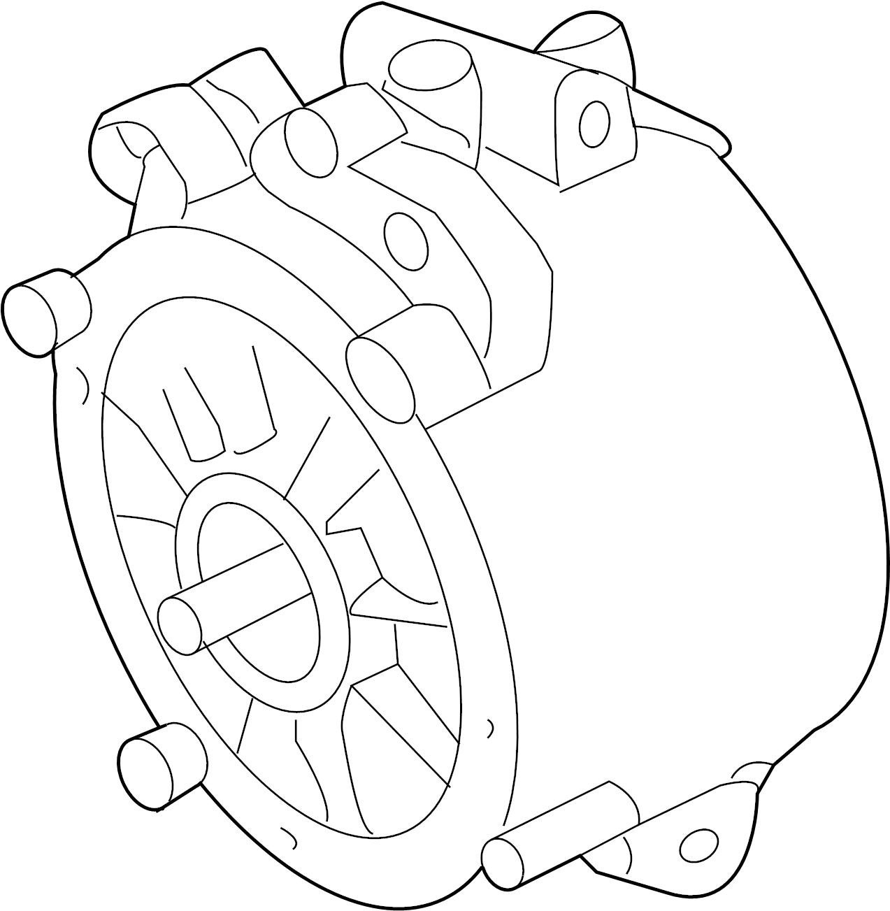 Porsche Cayenne Alternator From Engine 816 From