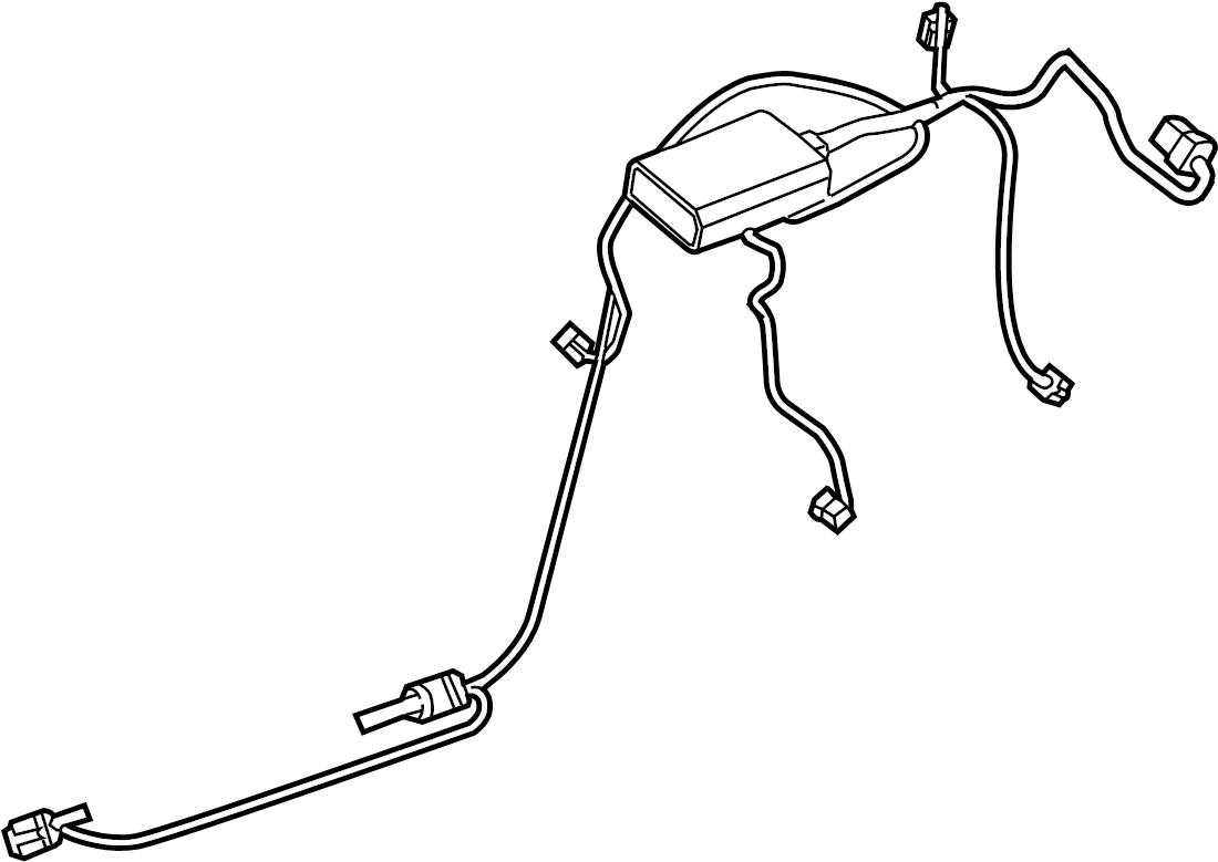 Porsche Cayenne Hvac System Wiring Harness Air Wire