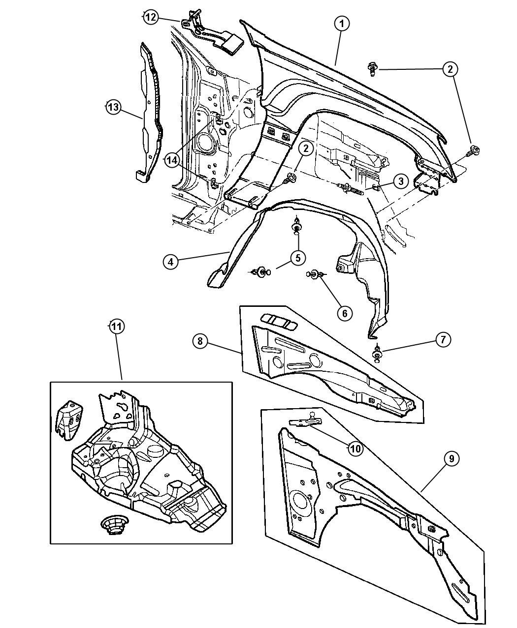 Jeep Grand Cherokee Support Front Suspension Left