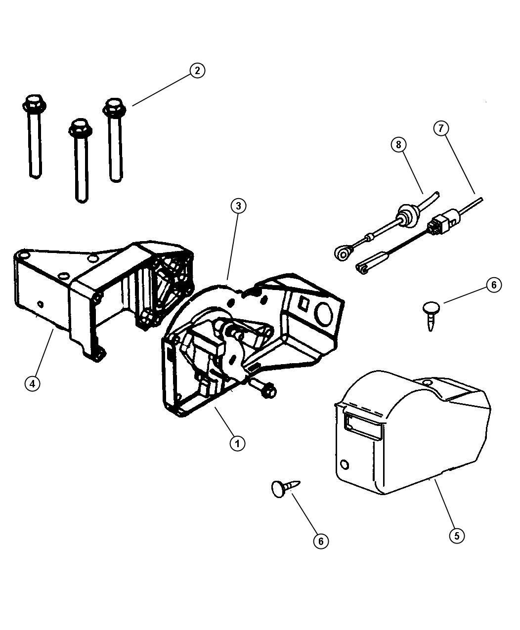 Dodge Ram Cable Accelerator