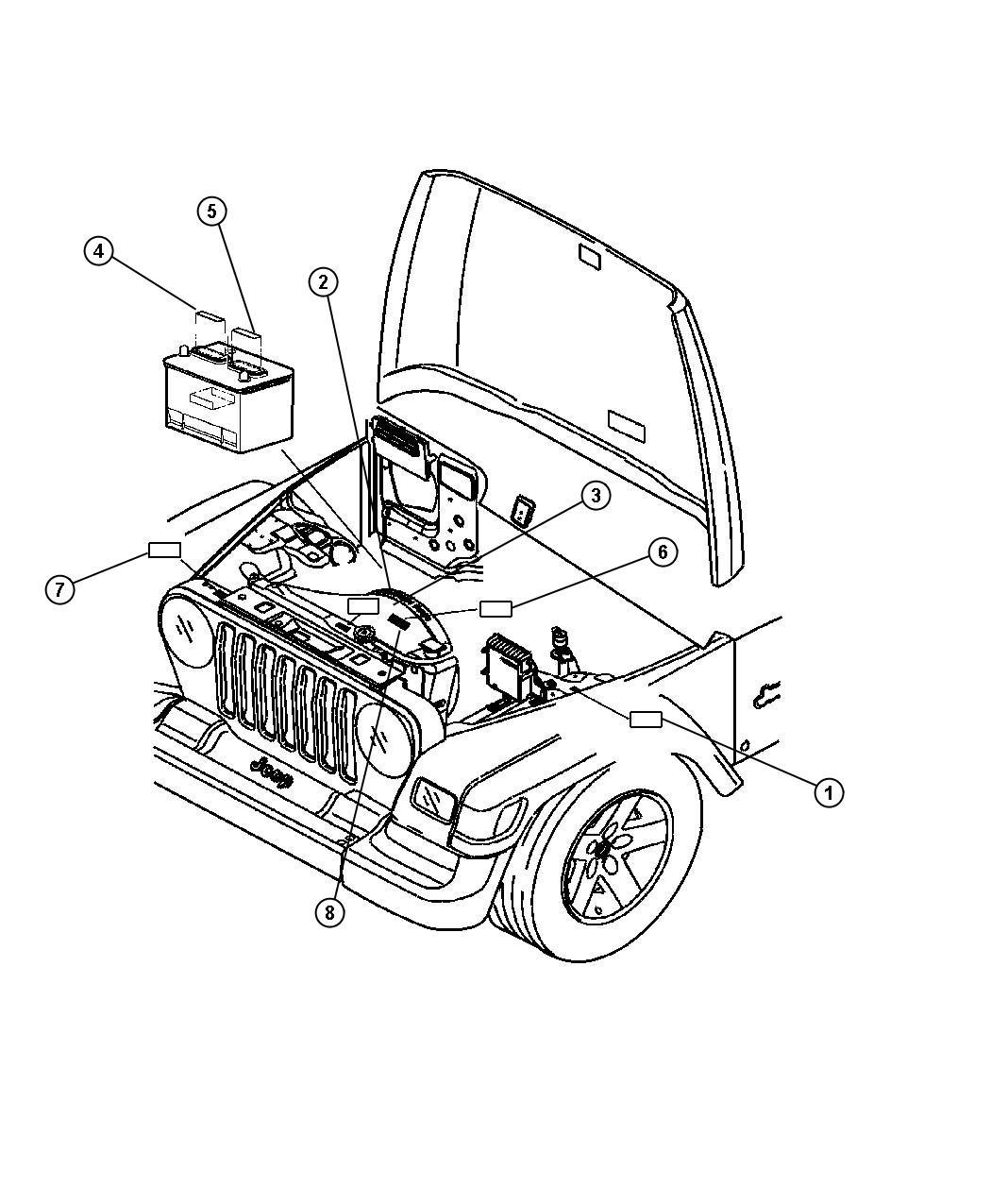 Jeep Wrangler Label Emission Naa