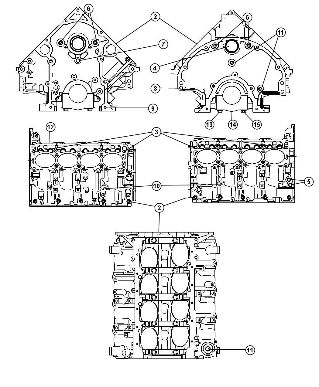 Dodge Ram Plug Hex Socket 3 8 18nptx 475 Chain