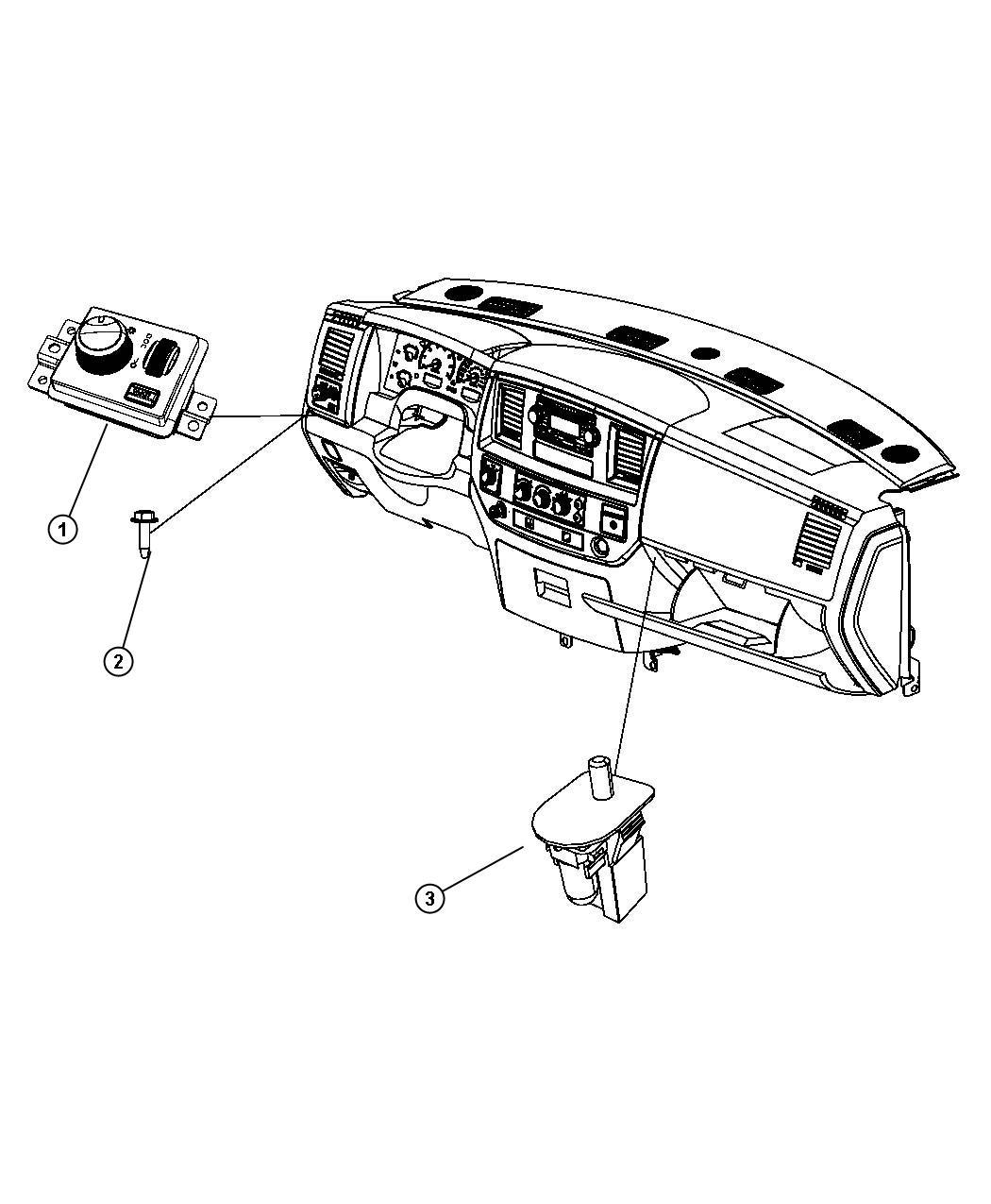 Dodge Ram Switch Headlamp