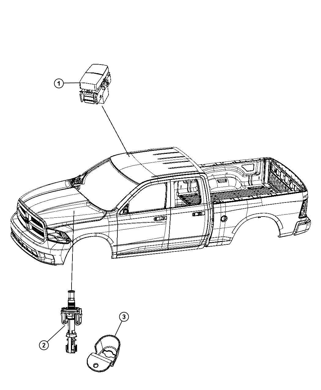 Dodge Ram Switch Remote Starter Underhood Canada