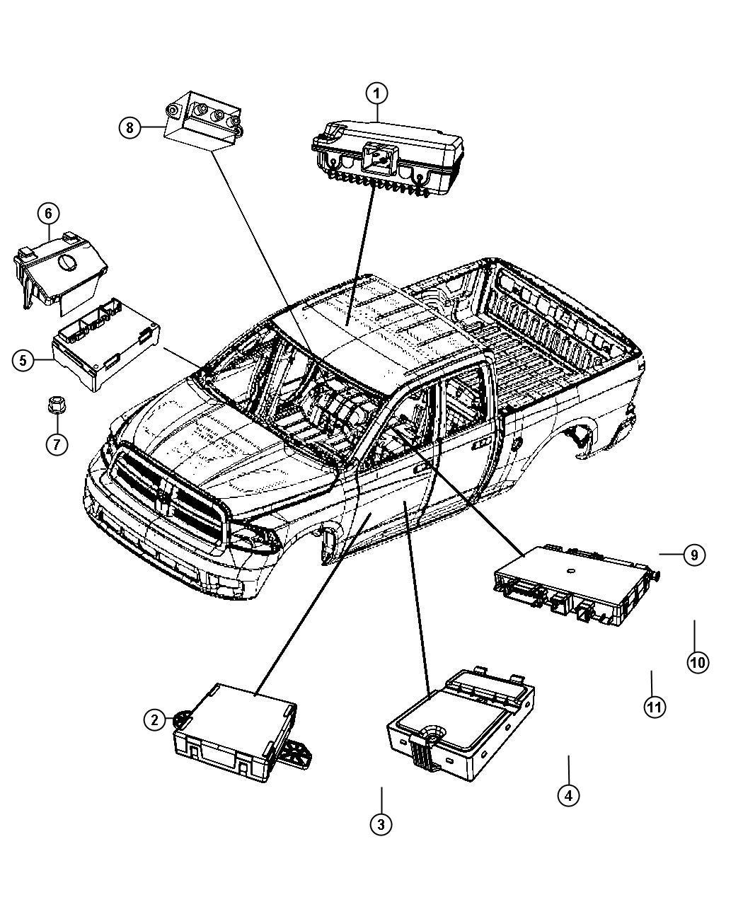 Dodge Grand Caravan Module Heated Seat Trim