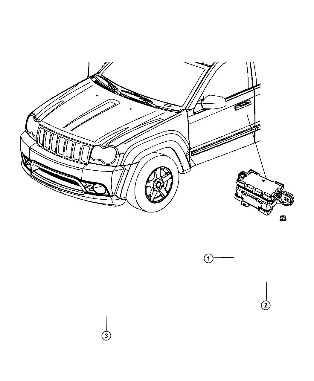 Jeep Grand Cherokee Temperature Sensor Compressor
