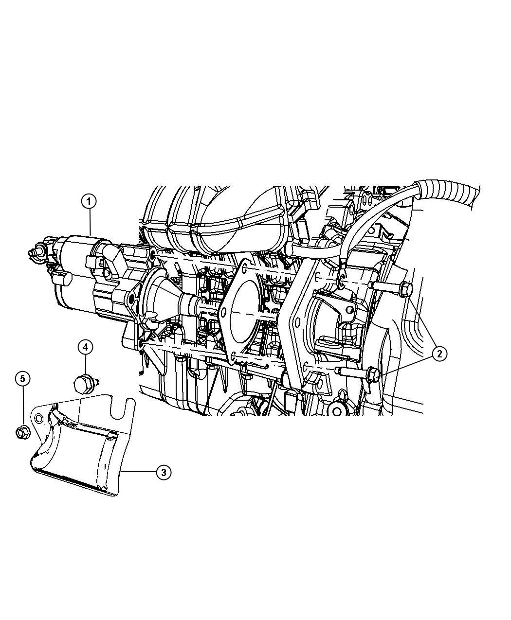 Jeep Grand Cherokee Shield Starter Related Erb Engine