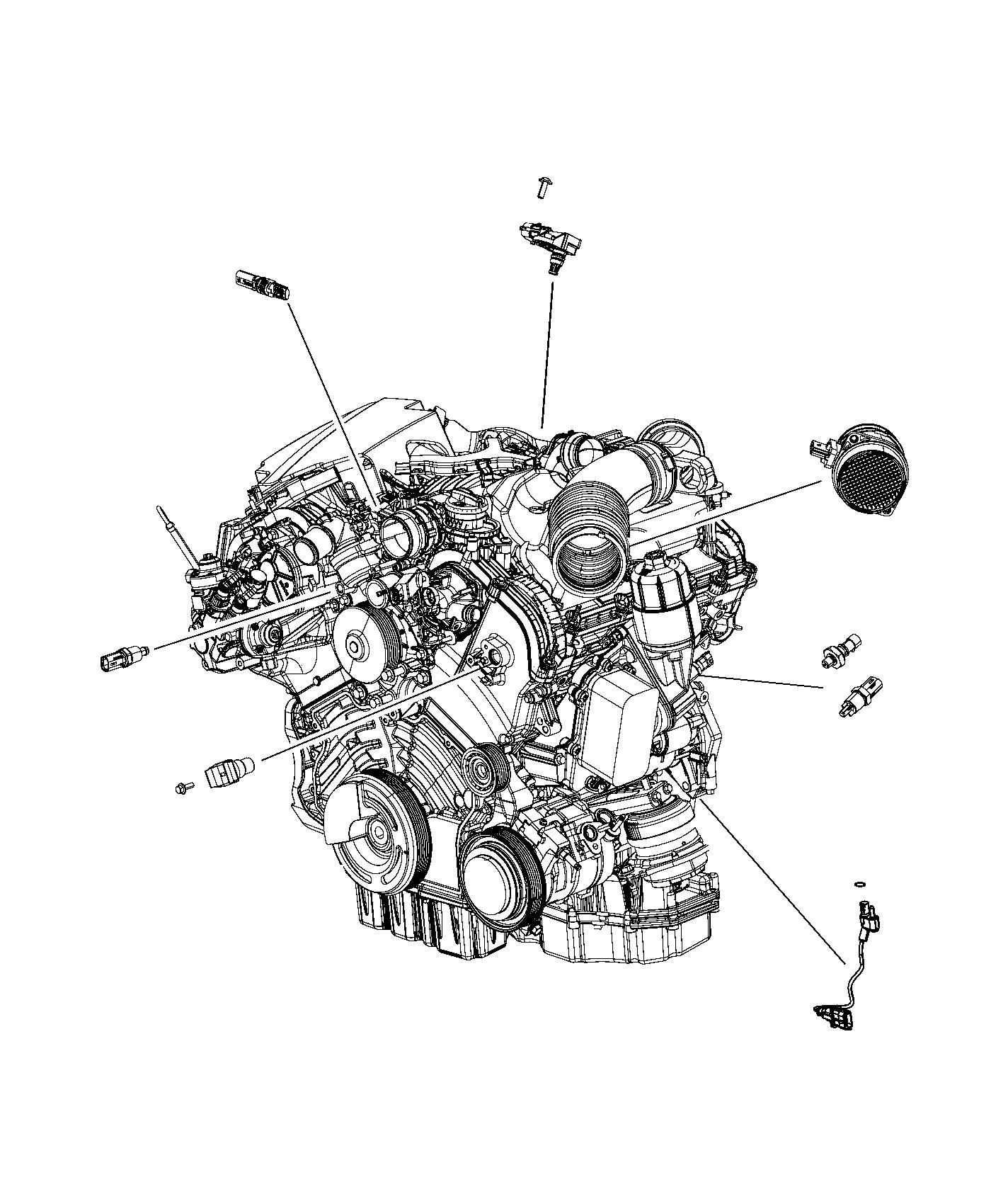 Jeep Grand Cherokee Sensor Crankshaft Position Engine