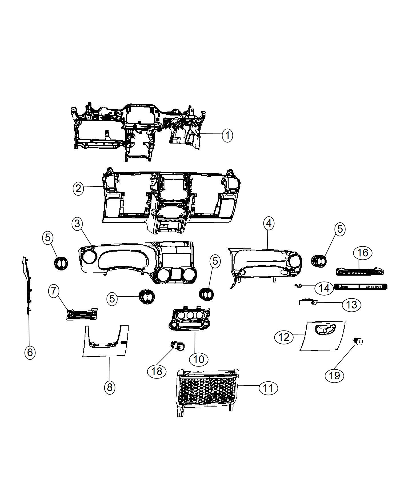 Jeep Wrangler Outlet Used For Air Conditioning And