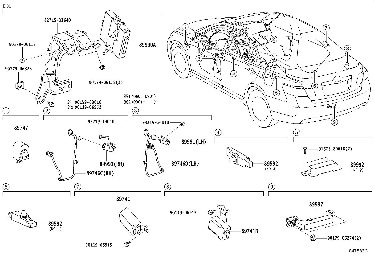 Toyota Camry Computer Assembly Smart Electrical