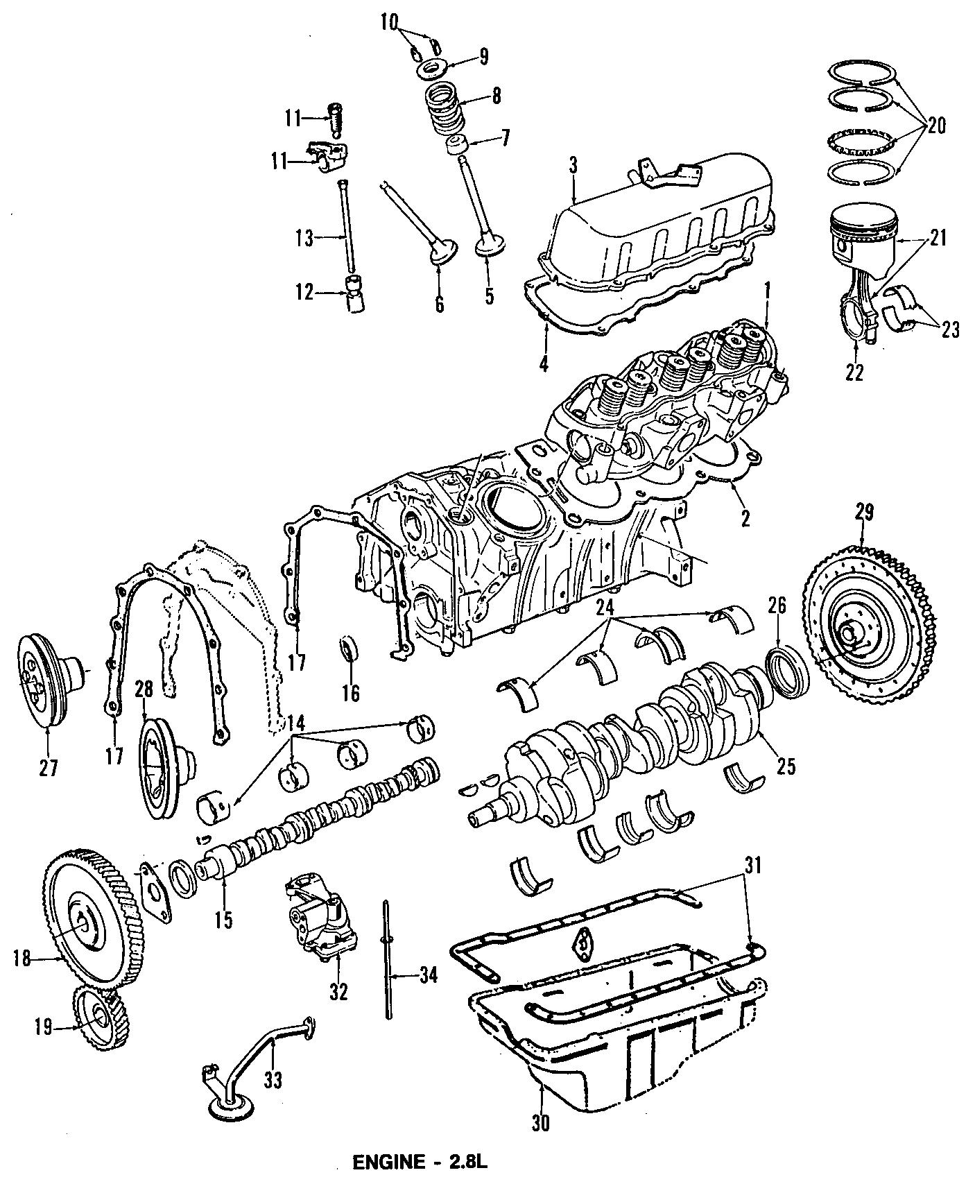 Ford Aerostar Gear Camshaft Timing Sprocket Engine 4