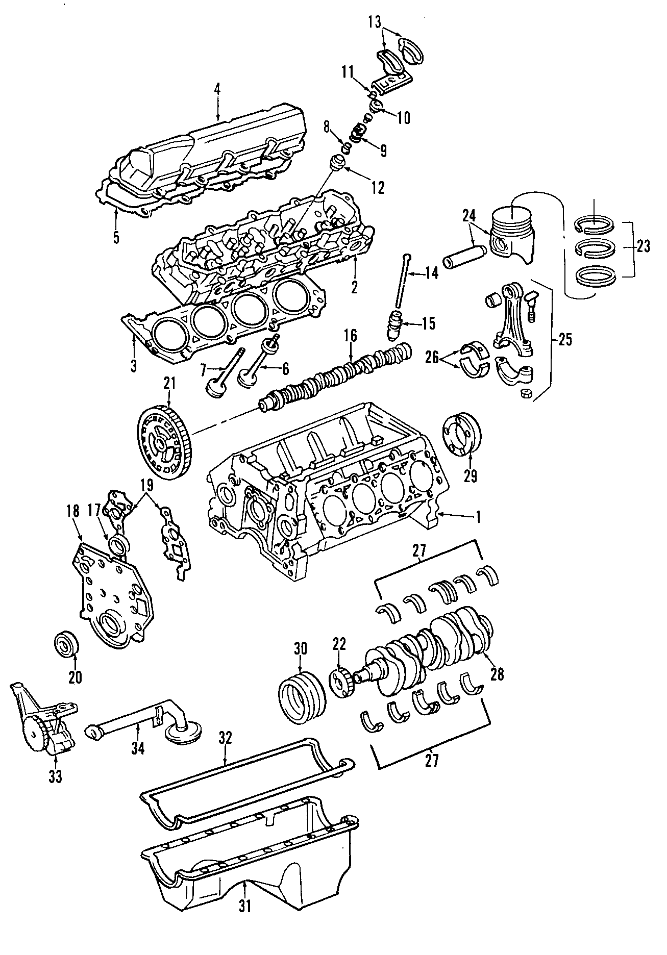 Ford F 250 Super Duty Engine Valve Cover Gasket
