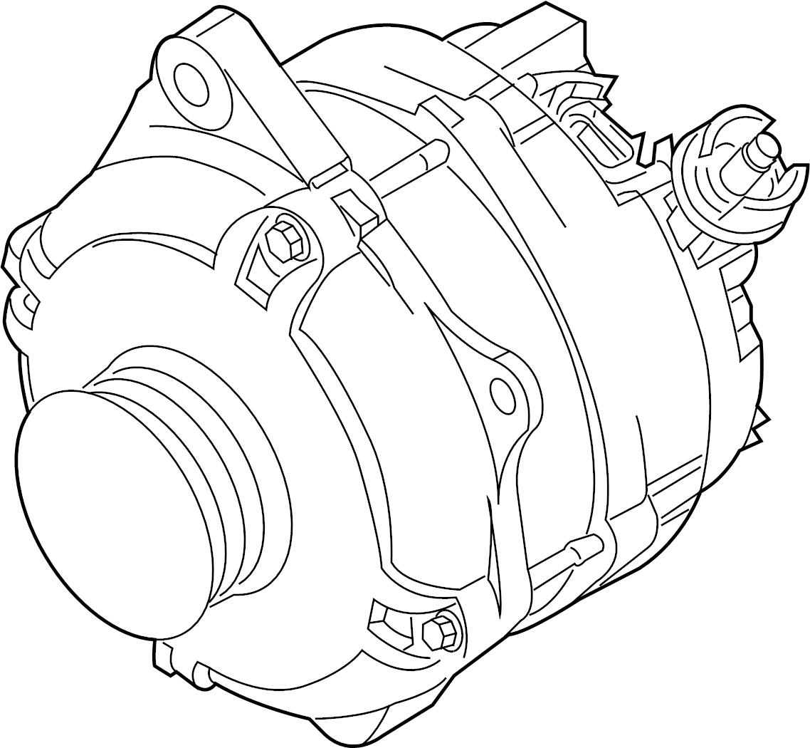 Mercury Sable Alternator