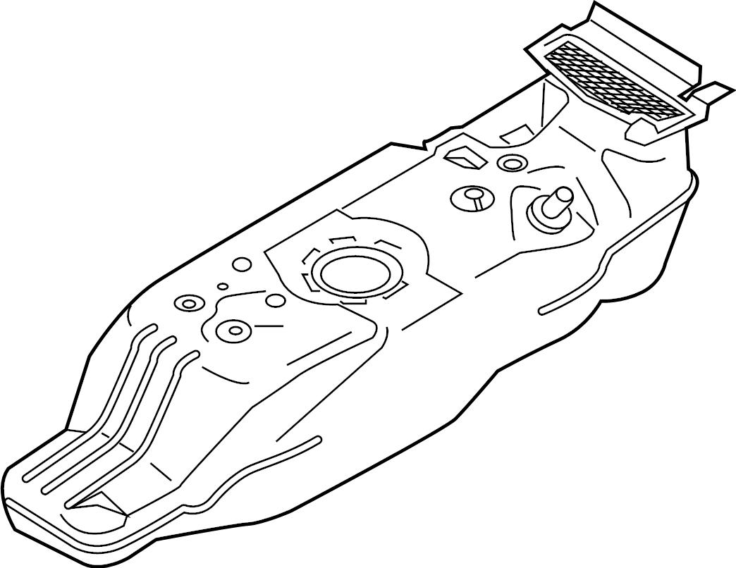Ford Ranger Fuel Tank Tank Assembly