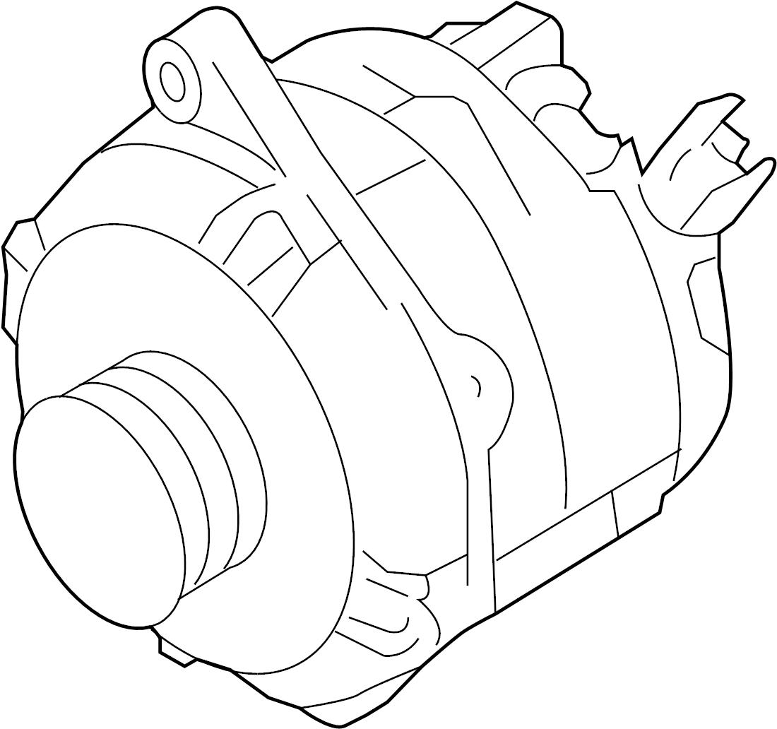 Mercury Sable Alternator Amp Battery Liter