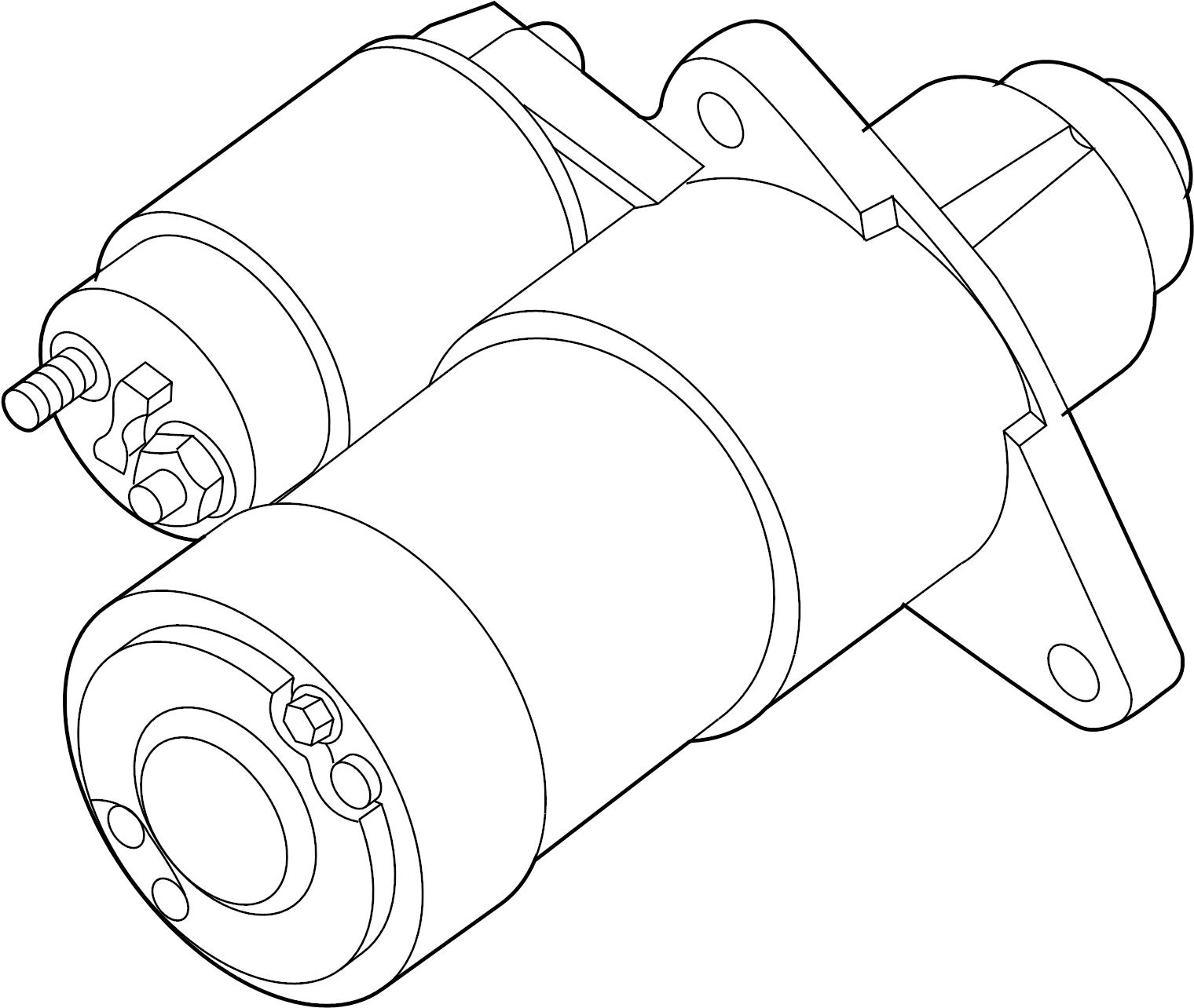 Mercury Monterey Starter Motor