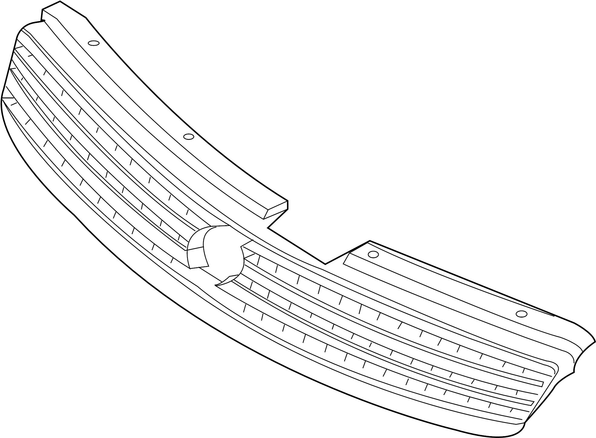 Infiniti G35 Grille Front Trim Interior Body