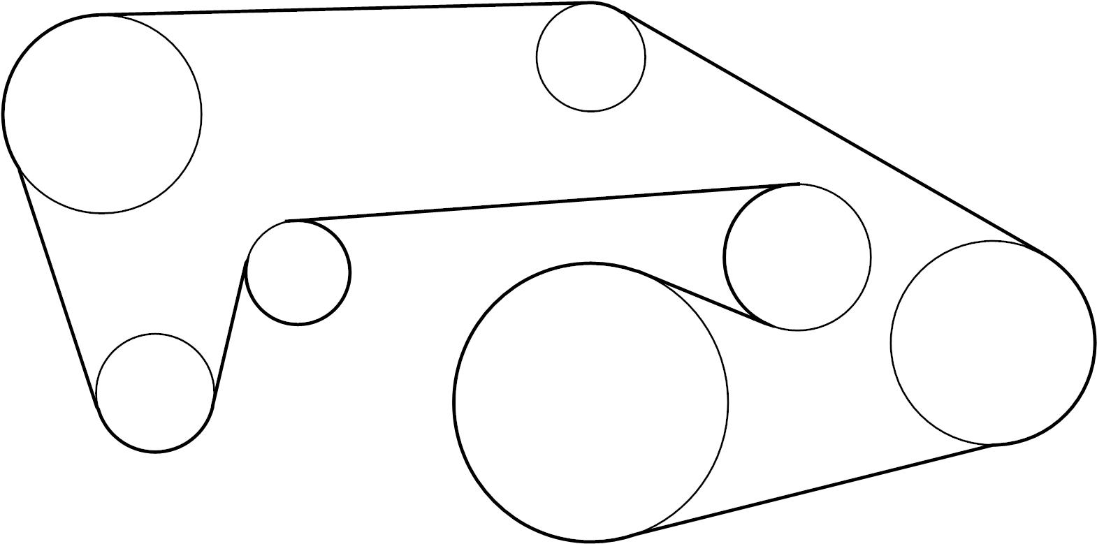 Infiniti G37 Serpentine Belt