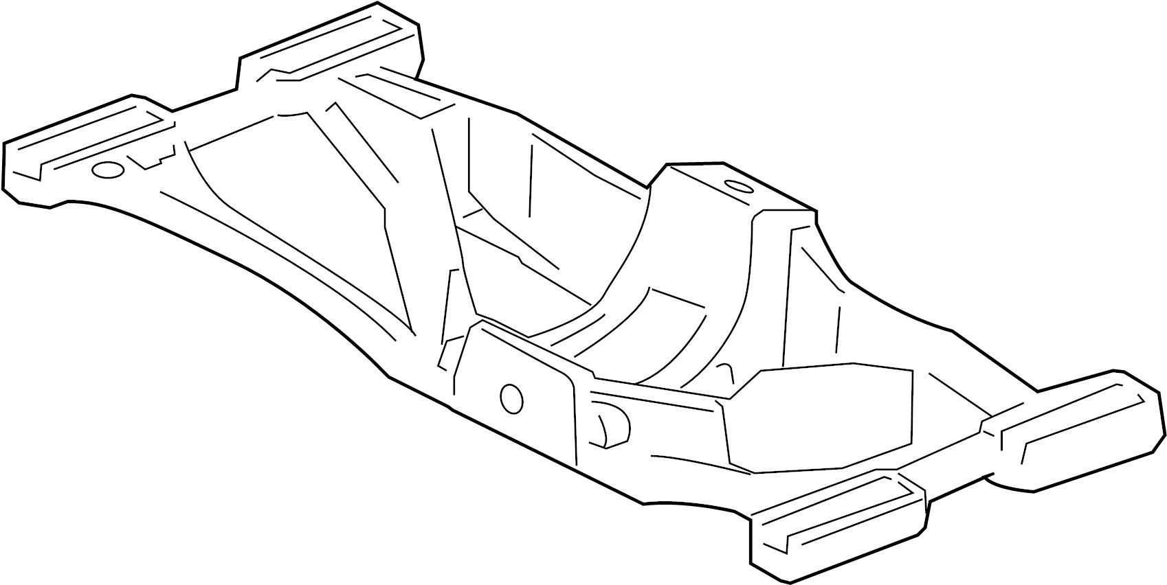 Jaguar Xj8 Automatic Transmission Mount Bracket