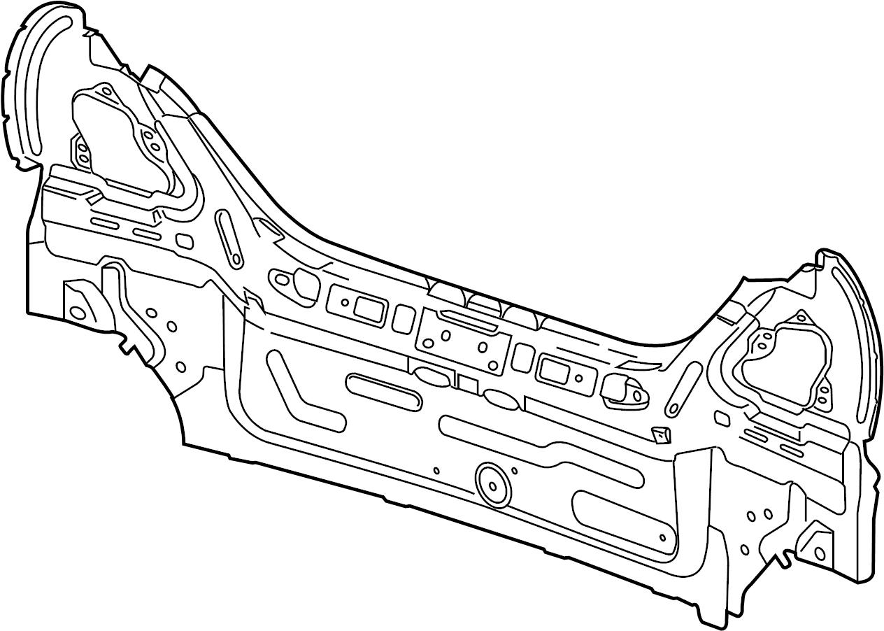 Jaguar Xj8 Panel Rear Outer Rear Body Rear End Rover