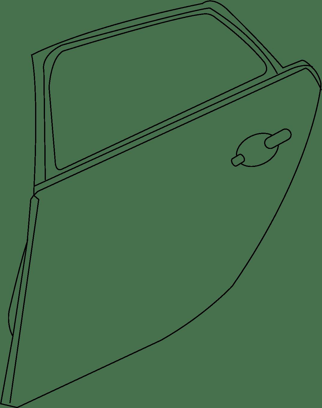 Jaguar Xj Door Belt Molding Xj Black Chrome