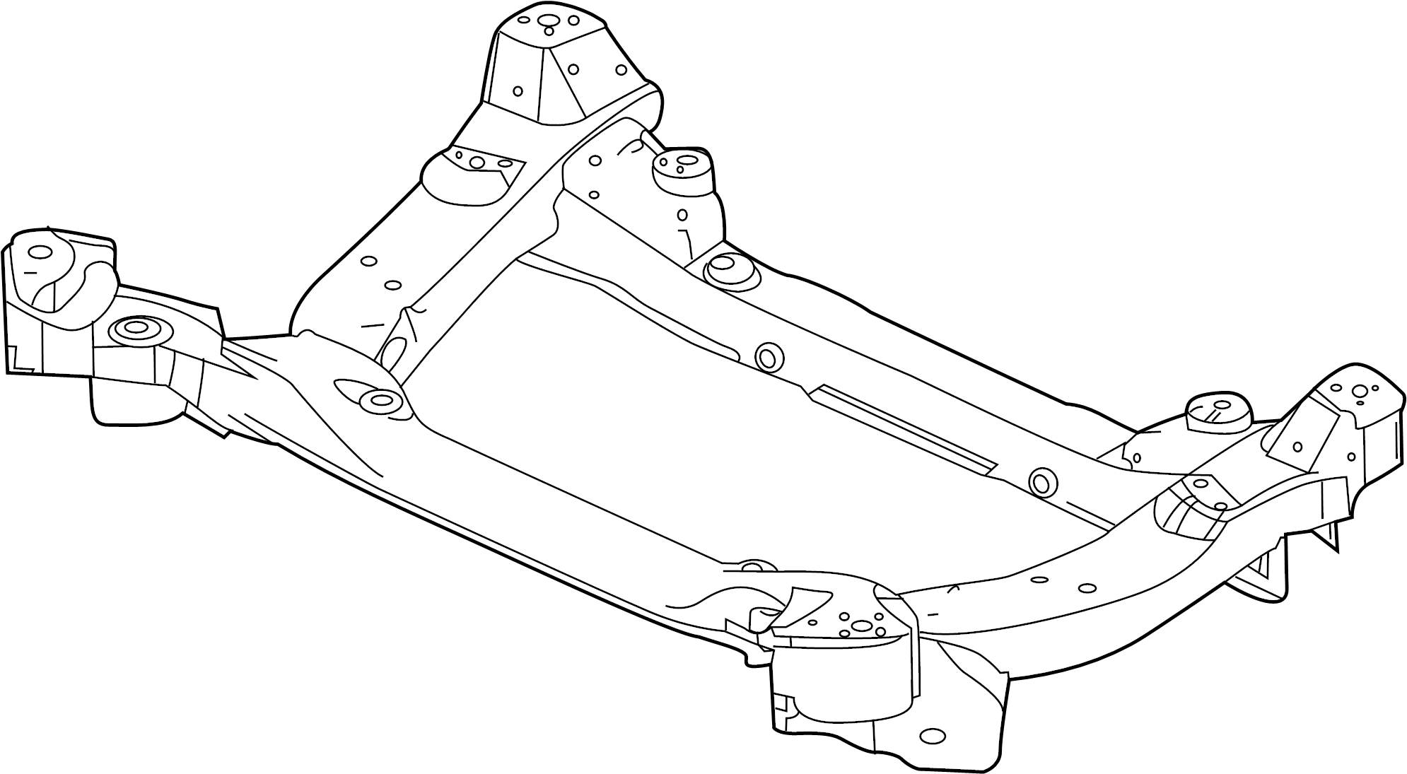 Jaguar Xj Engine Cradle Front Suspension