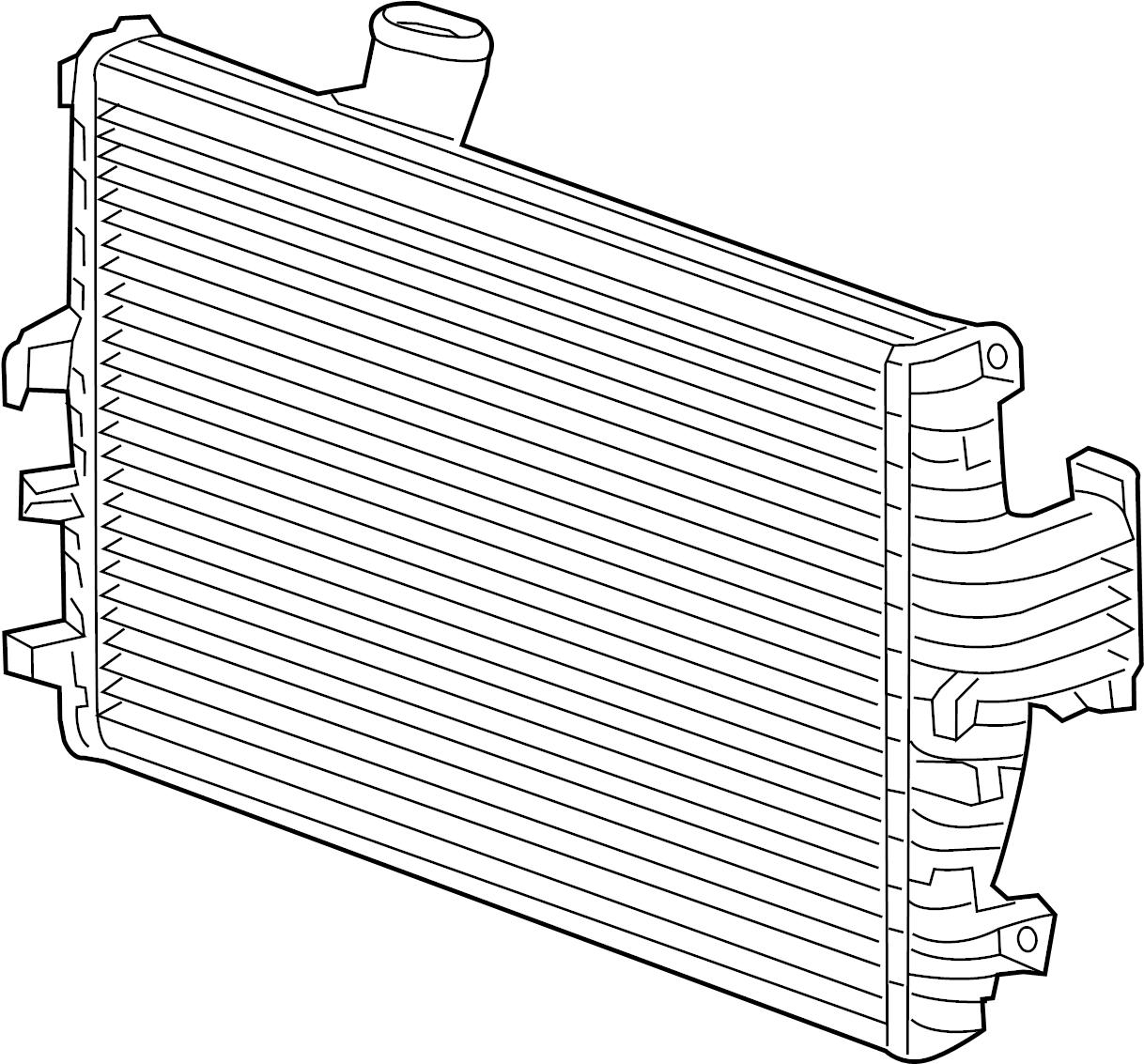 Jaguar Xf Intercooler Outlet Duct Gasket Turbocharger