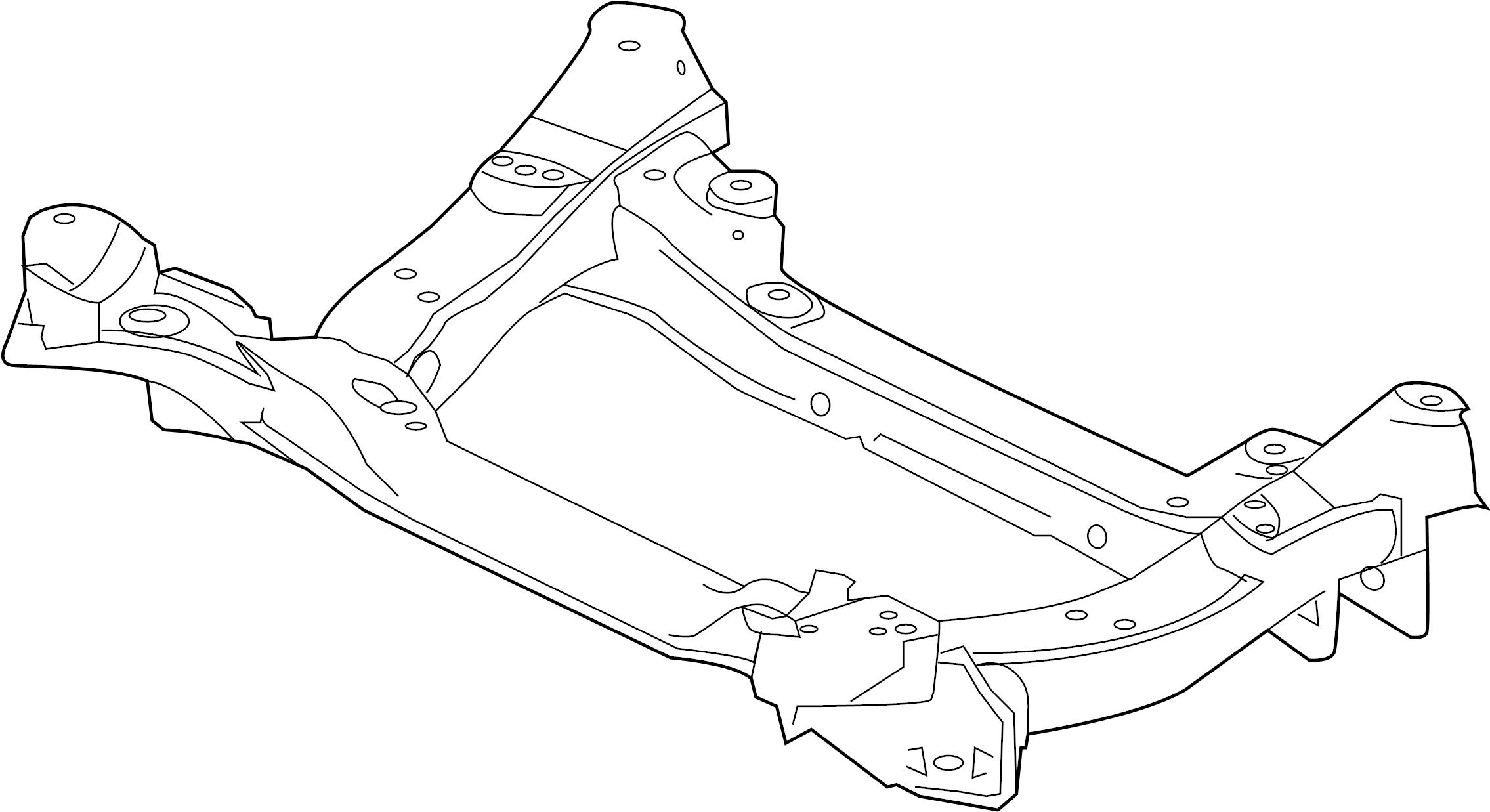 Jaguar Xfr Engine Cradle Suspension Front
