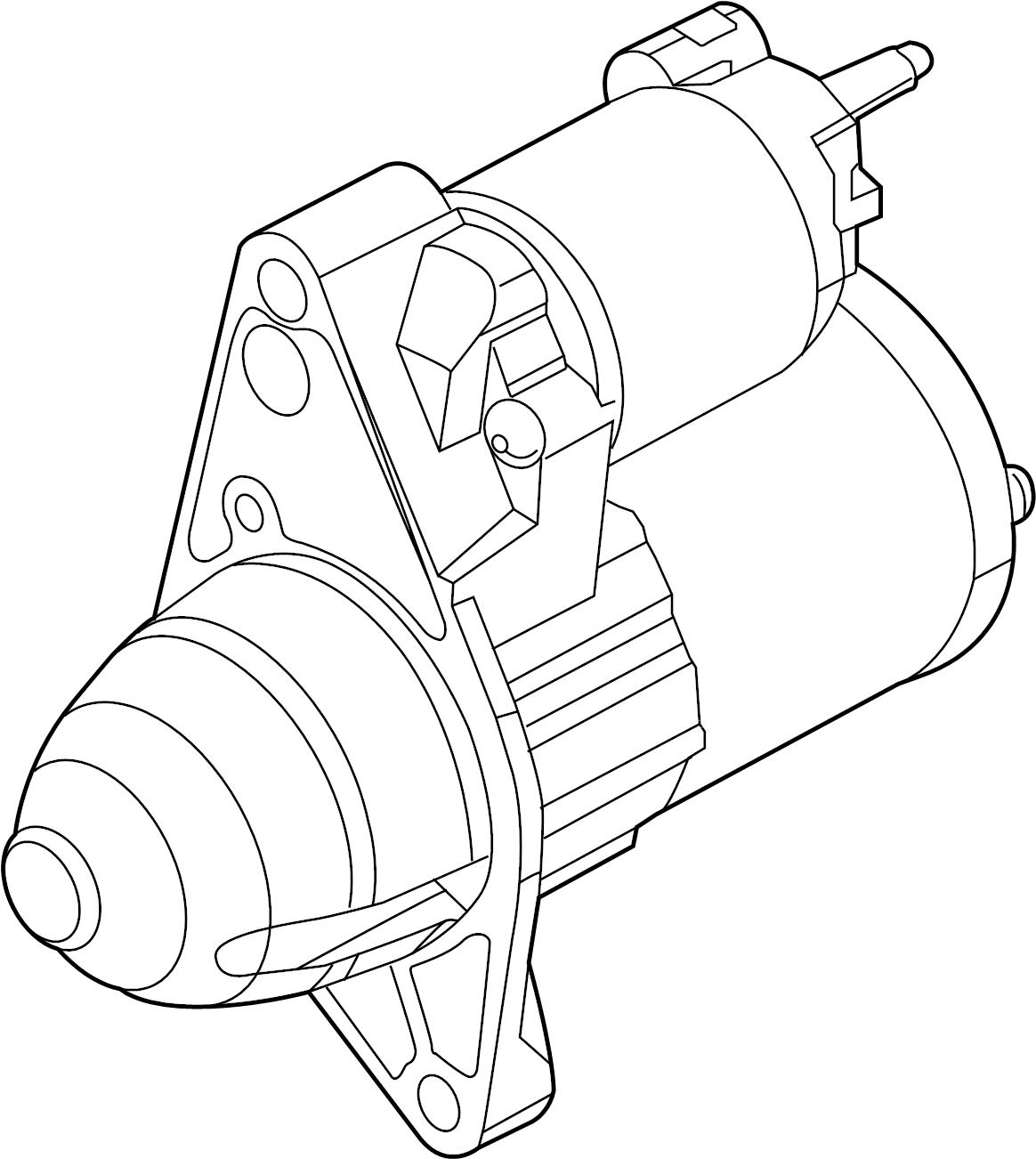 Jaguar F Type Starter Motor Motor