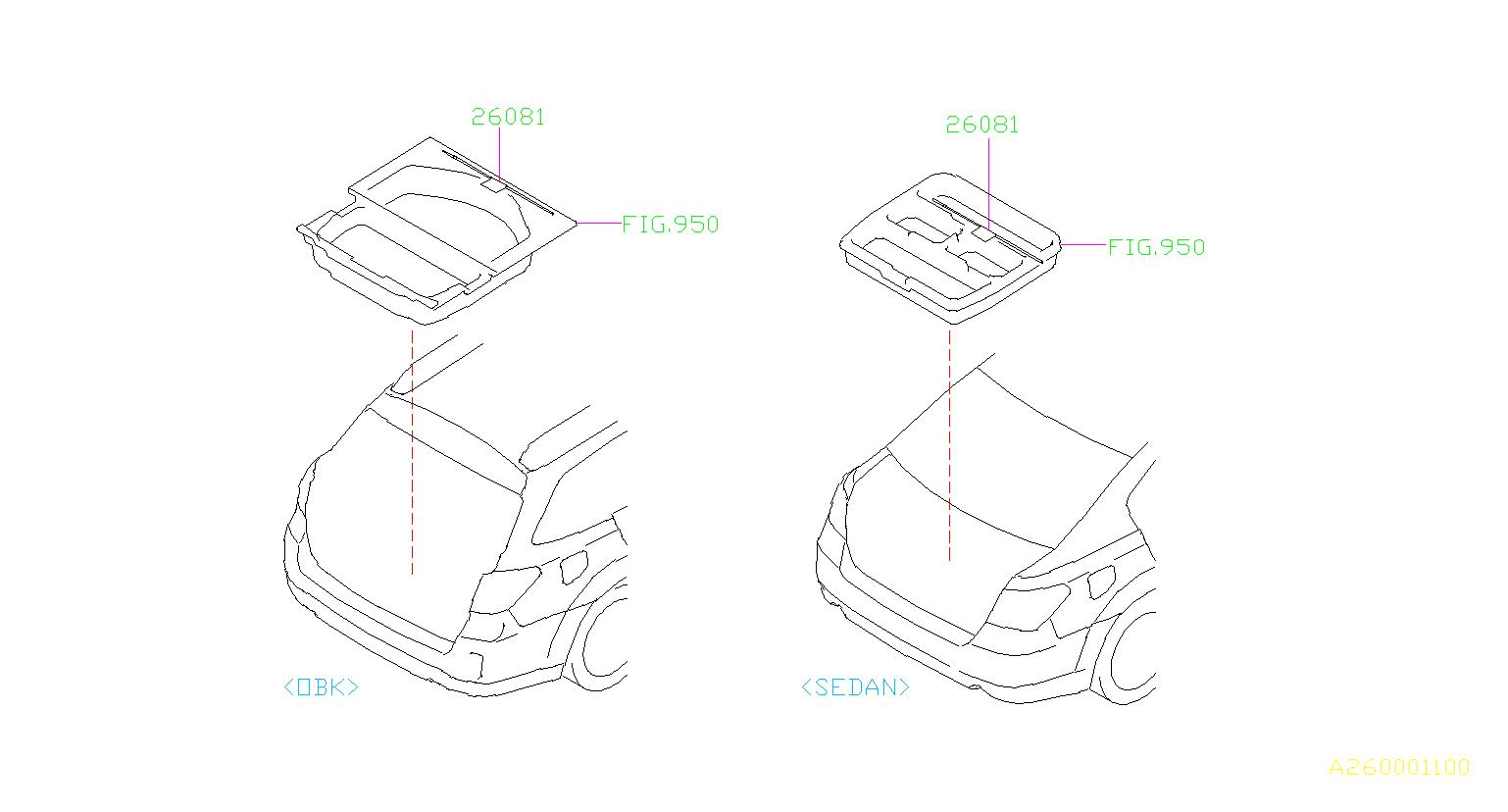 Subaru Outback Tool Electric Parking Brake System